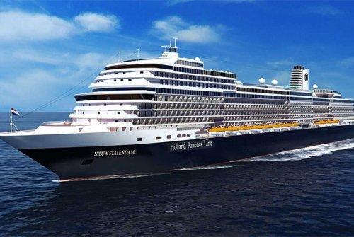 Holland America ocean cruise ship
